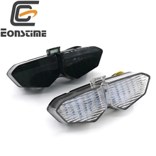 Eonstime Hot Sale 12V Motorcycle LED Turn Signal Tail Light Taillight for Yamaha YZF R6 2003 2004 2005 Clear
