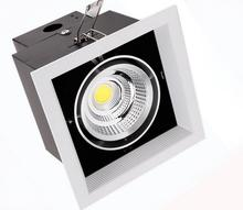 1*15W 1 Head 2 Head 2*10W COB LED Downlight all with power Driver COB LED Down Light discount chandelier Ceiling 10pcs/lot