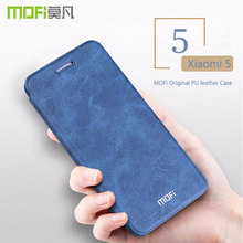 Buy Xiaomi Mi5 Flip Case Cover Mi 5 MOFI Original PU Leather Hard Flip Case Back Cover Xiaomi Mi 5 Case coque capa funda 5.15'' for $9.12 in AliExpress store