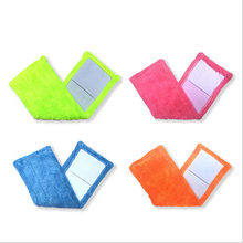 1PC Microfibre Fabric Floor Flat Mops Coral Velvet Mop Cloth Replacement Pad Refill Rag Replace Mop Head Easy Wash Cleaning Pad