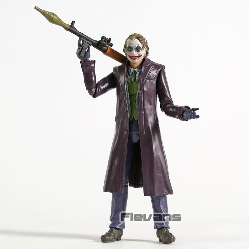 "SHF Batman The Dark Knight Joker 6/"" PVC Action Figure Toy In Box"