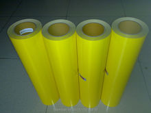 CDU-15 lemon yellow color PU special color transfer pu vinyl film for clothes 50X100CM/LOT(China)