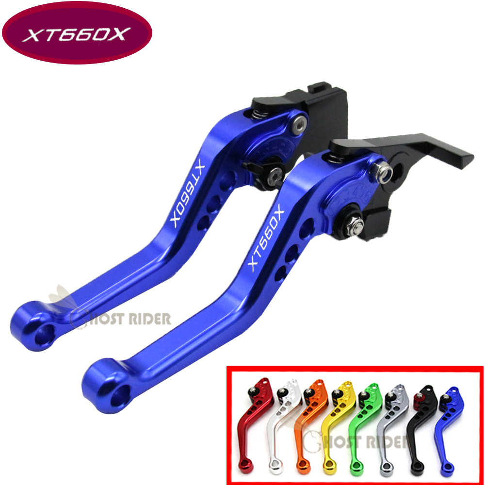 3D CNC Short Brake Clutch Levers for Yamaha XT660Z Tenere 2008 2009 2010 11-2015