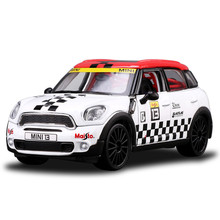 1:24 Maisto Diecast Metal & Part Plastic MINI Countryman Toy Car, Openable Door, Simulation Cars Model Toys Kids Boys Brinquedos