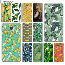 banana leaf pattern Tropical Leaves Fruit Hard Phone Cover Case for Meizu M2 M3 M3S M5 M5S Mini & Note U10 U20 Pro 6