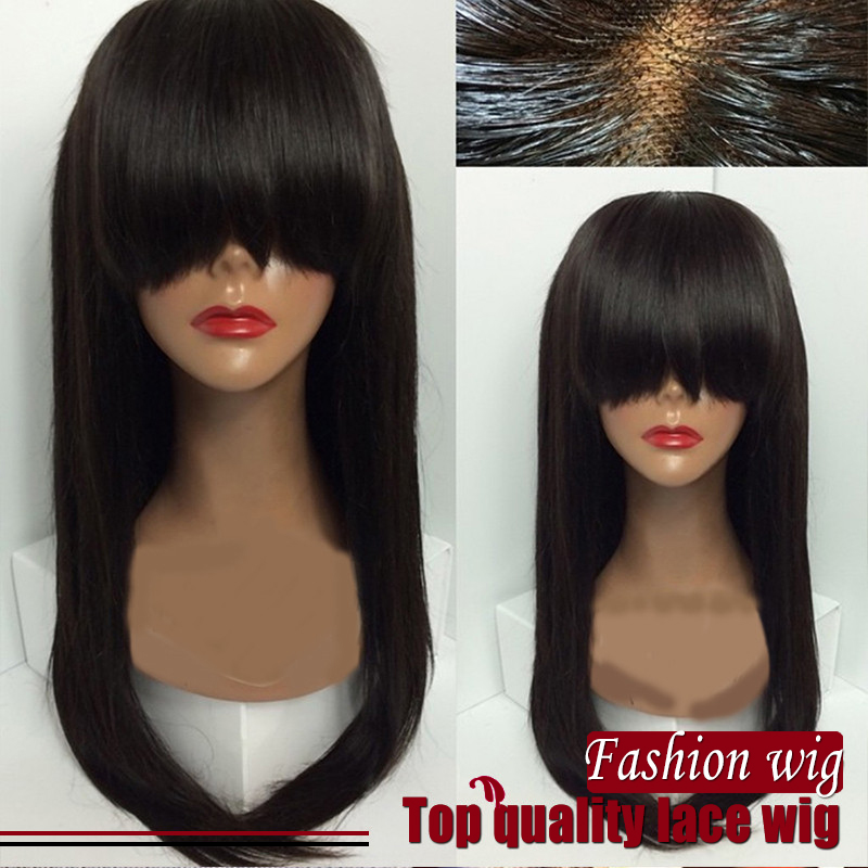 Hot Straight Wigs Synthetic Lace Front Wigs&amp;None Lace Wigs Soft Glueless Heat Resistant Brazilian Hair Wigs For Black Women<br><br>Aliexpress