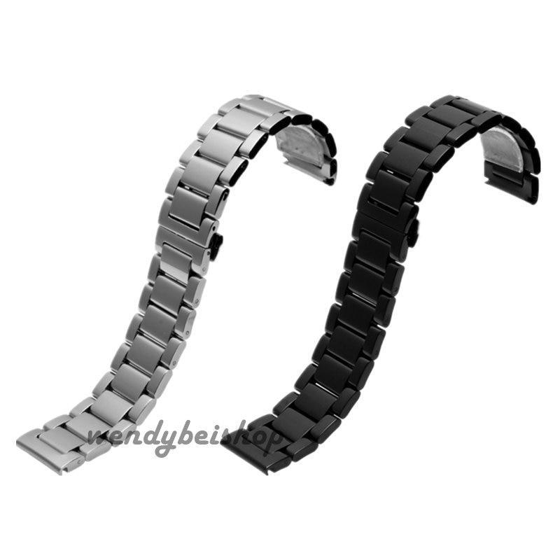 18 20 21 22mm Hot Sell New Men Women Silver Black 316L Solid Stainless Steel Bracelet Watch Band Strap Belt Luxury Best Gift<br><br>Aliexpress