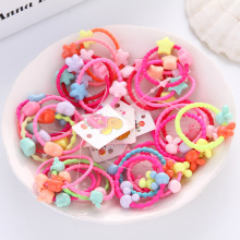 5 Pcs Mickey rabbit flower Kids Hair Holders Rope ring Cute Rubber Hair Band Elastics Accessories for Girl Tie Gum scrunchies