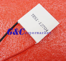 Slim TES1-12704 12V Heatsink Thermoelectric Cooler Peltier 30mm*30mm(China)