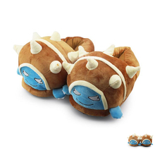New Unisex Game LOL Teemo Rammus Blitzcrank Amumu Cotton Plush Slippers For Women and Men Warm Indoor Floor Home Fluffy Slippers