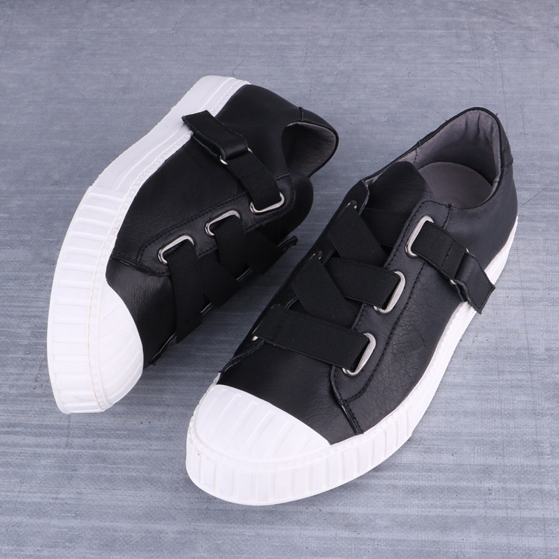 2016 Winter New Genuine Leather Men Fashion Sneakers Casual Round Toe Low Cut Top Shoes High Quality<br><br>Aliexpress