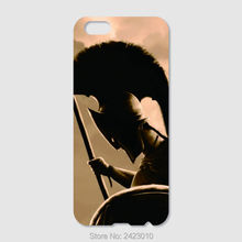 High Quality Cell phone case For iPhone 6 6S 7 Plus SE 5 5S 5C 4 4S iPod Touch 6 5 4 Hard PC King Leonidas Art 300 Gerard Butler(China)