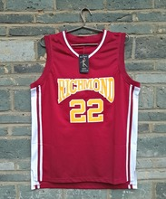 2016 LIANZEXIN #22 Timo Cruz Richmond Oilers Home Basketball Jersey Name And Number Stitched Red Color For Sale(China)