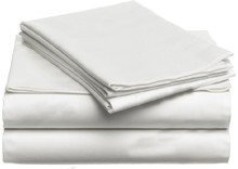 100% Egyptian Cotton 1600 TC bedding set Isreal King size white ivory color 4 pieces bedding fitted sheet set customize