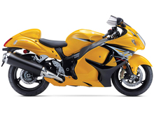 Yellow Fairings For Suzuki GSXR1300 Hayabusa 08 09 10 11 12 13 14 2008 - 2014 ABS Plastic Full Motorcycle Fairing Kits Cowling