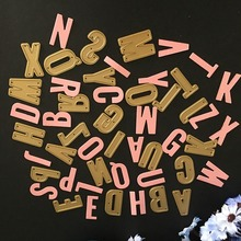 132x129mm Uppercase Letter New  DIY Metal Cutting Dies Stencils Scrapbook Embossing Album Paper Card Craft Decorative