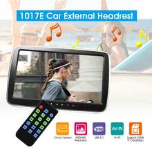 "9''/10"" Full HD Car Radio Headrest External Monitor Multimedia MP5 Player Support AV-in FM Transmitter Hi-Fi Stereo Music Movie(China)"
