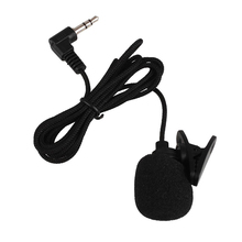 3.5mm Wired Microphone Lapel Lavalier Microphone Collar Tie Clipon Microphone Mikrofon for Smartphones PC Megaphone