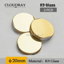 Cloudray Laser Mirror K9 CO2 Laser Reflection Mirror Diameter 20mm Golden Coating For K40/3020 Laser Engraver Cutting Machine
