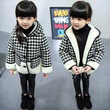 Autumn Winter Girls Coat 2017 New Fashion Windbreaker Childrens Jackets for Girls Hooded 3 4 5 6 7 8 Year Kids Outerwear