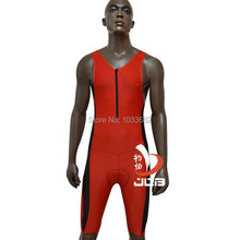 JOB men ironman triathlon suit one piece running swimsuit cycling clothes mens tri suit , tri training triathlon clothes