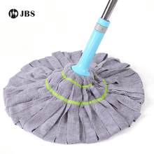 Self-twisting Water Mop Cloth Hand Wash Lazy Squeeze Water Wring Dry Mop Cloth Cotton Thread Cotton Yarn Swivel Twist Mop