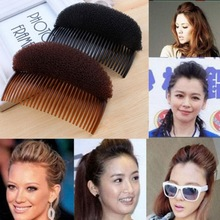Increased Hair Combs Three Color Dish Hair Hairpin Fluffy Sponge Head Women Princess Party Of DIY Wedding Hair Accessories(China)
