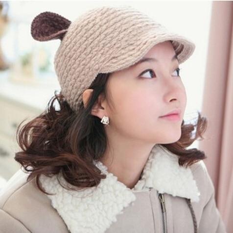 2017 Women Beanie winter keep warm Hip-hop Slouch Orecchiette hand-knit wool hat Knitted Cap Winter Hat Beanies Dark Blue GorrosÎäåæäà è àêñåññóàðû<br><br><br>Aliexpress