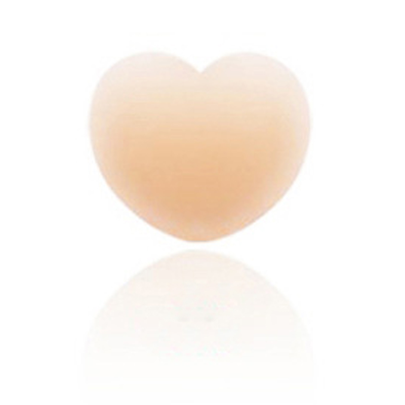 3Pairs Heart Shape Silicone Breast Petal Pasties Adhesive Nipple Cover Pads Sexy Invisible Reusable Bra Patches Shaper Stickers