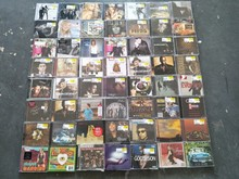 Random Wholesale 10PCS CDs (WITHOUT JEWEL CASE) USA New Original CD Sufficient stock(China)