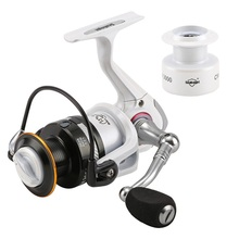 Seaknight brand  Carbon Fiber Leg  2000-4000 New Quality 11BB 5.2:1  Spinning Reel Fishing Reel for Carp Fishing + Spare Spool