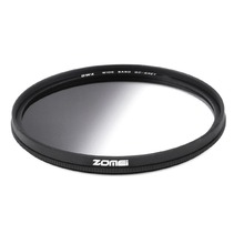 Zomei Super Slim Lightweight Graduated Grey Neutral Density ND Optical Filter For Camera 49mm 52mm 58mm 67mm 72mm 77mm(China)