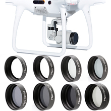 Wholesale ND2 ND4 ND8 ND16 ND32 CPL UV Star Camera Lens Filter for DJI Phantom 4 PRO 4PRO+(China)