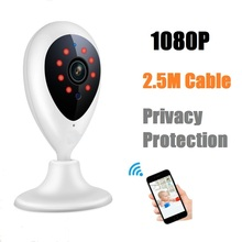 Buy HD 1080P WiFi Wireless IP Camera Mini Video Baby Monitor for Home Security CCTV Surveillance Cam TF Card with Night Vision(China)