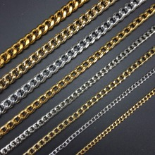 DIY jewelry accessories production Gold silver Bracelet making Sexy flash style Retro-style chain 100cm