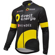 Buy SPRING /Autumn 2016 DIRECT ENERGIE TEAM 2 COLORS ONLY LONG SLEEVE ROPA CICLISMO CYCLING JERSEY CYCLING WEAR SIZE S-3XL for $18.09 in AliExpress store