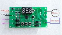 12V Dual Programmable Relay Control PLC Cycle Delay Timing DC motor Reversible