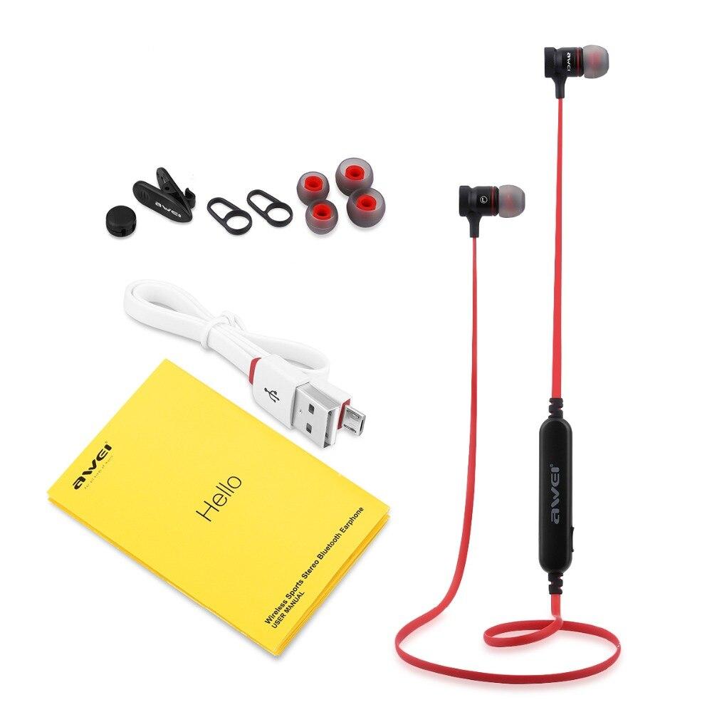 AWEI A920BLS Bluetooth V4.1 Earphone Wireless Handsfree Sport Bluetooth Headset Auriculares Cordless Headphones Casque  (1)
