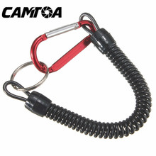 Hot sale Fishing Lanyards Boating Ropes Kayak Camping Secure Pliers Lip Grips Tackle Fish Tools Fishing Accessory Carabinet