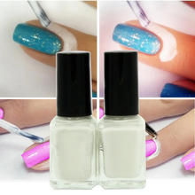 Nail Polish Liquid Tearable Anti Overflow Skin Protective Glue Colors Finger White Protector Nails Easy to Clean Cream