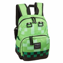 Minecraft Backpack anime children backpack kids small Lego bts Bag Children All for School Minecraft Kids High Quality Backpack(China)