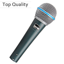 Top quality Capsule and Heavy Body BETA 58 Clear Sound Beta 58A Handheld Vocal Wired Microphone Studio Mic(China)