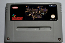 Action Game Cartridge -  Addams Family Values EUR Version