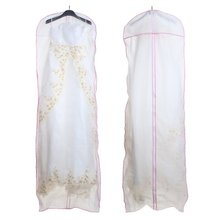 Best selling Wedding Evening Dress Gown Garment Storage Cover Bag Protector 174cm