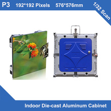 TEEHO p3 led display Diecasting Cabinet 576mm*576mm ultra Thin 1/32 scan rental led screen display led indoor led display rental