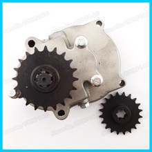 T8F 20 Tooth Gear box And T8F 20T front pinion sprocket For 33cc 43cc 49cc Go Kart Mini Pocket Dirt Bike Scooter