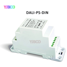 DALI-PS-DIN(DIN Rail);DALI Bus Power supply;100-240VAC 50/60Hz input,15VDC 200MA output DALI Dimming Driver for LED Lamps