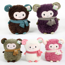 Newest arrival super cute aforable toot sheep plush toy dudu sheep doll good for gift five colors to choose 1pc