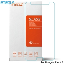 Doogee Shoot 2 Glass Doogee Shoot 2 Tempered Glass Doogee Shoot2 Screen Protector Film Case 0.33mm 9H 2.5D Transparent Glass
