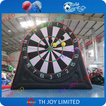 free shipping!Double sides 5m/16.5ft Giant Inflatable Dart Game, Inflatable Soccer foot Darts, Inflatable golf soccer Darts Game(China)